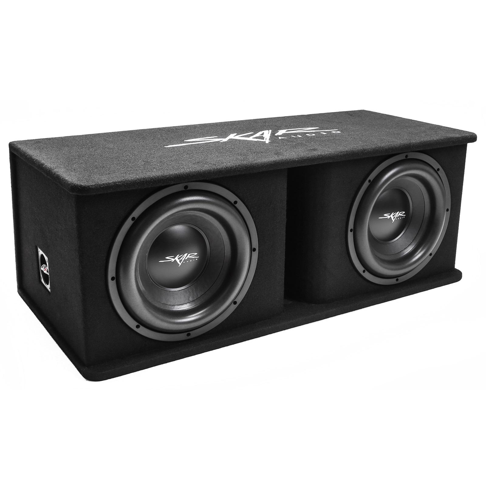 Details about NEW SKAR AUDIO SDR-2X12D4 DUAL 12