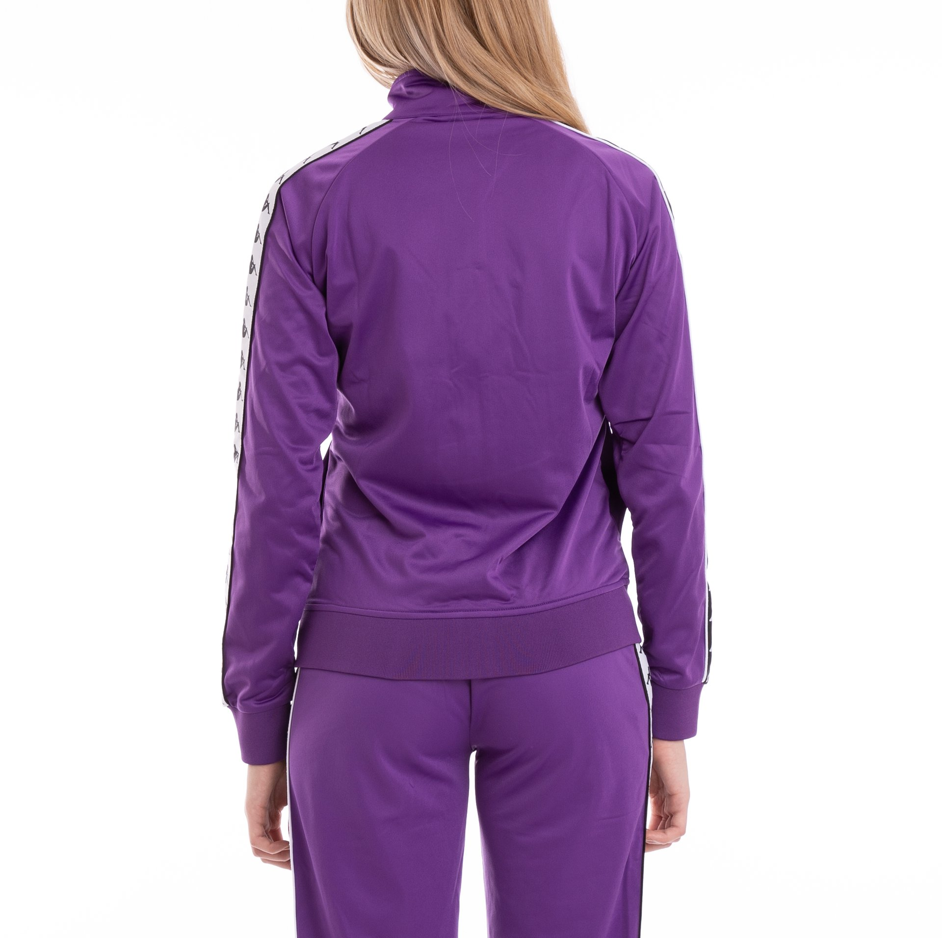 e6c2a31820 Details about Kappa Womens 222 Banda Wanniston Slim Alternating Banda Slim  Track Jacket