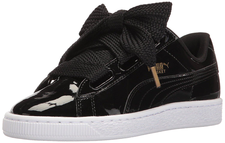 PUMA Women's Basket Heart Patent WN'S Fashion Sneaker | eBay