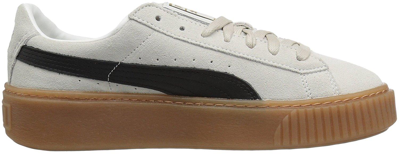 f87ac2d7753 PUMA Women s Suede Platform Core Fashion Sneaker Whisper White-Puma ...