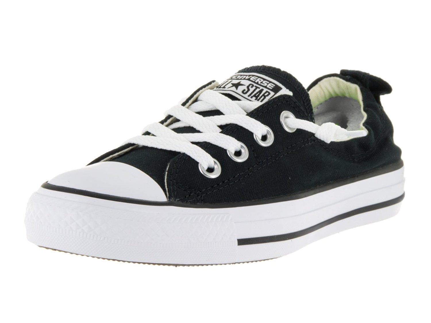 NEW WOMEN CONVERSE CHUCK TAYLOR ALL STAR SHORELINE SLIP BLACK 081F ORIGINAL