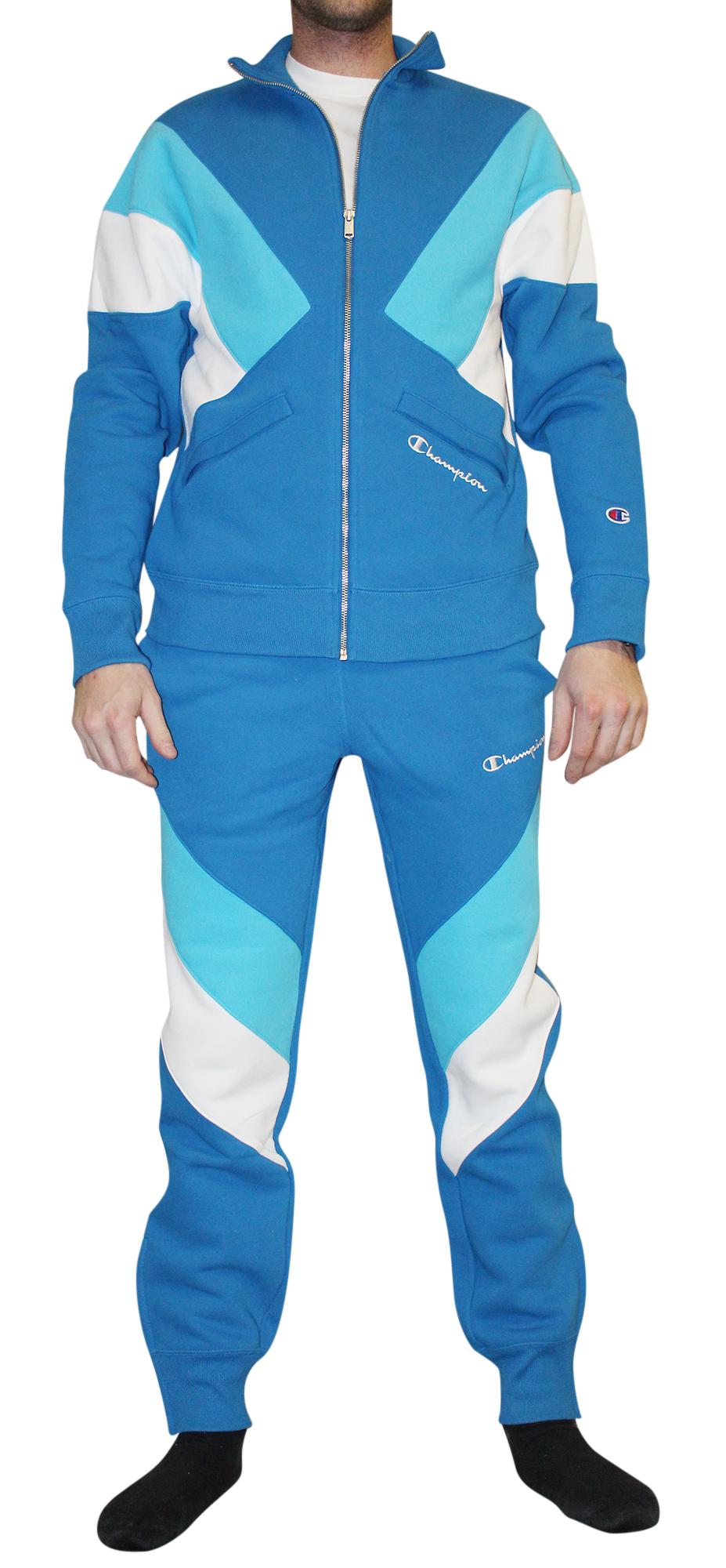 0e0ce4baa0a6 Champion LIFE Men s Reverse Weave Color Block Track Pant