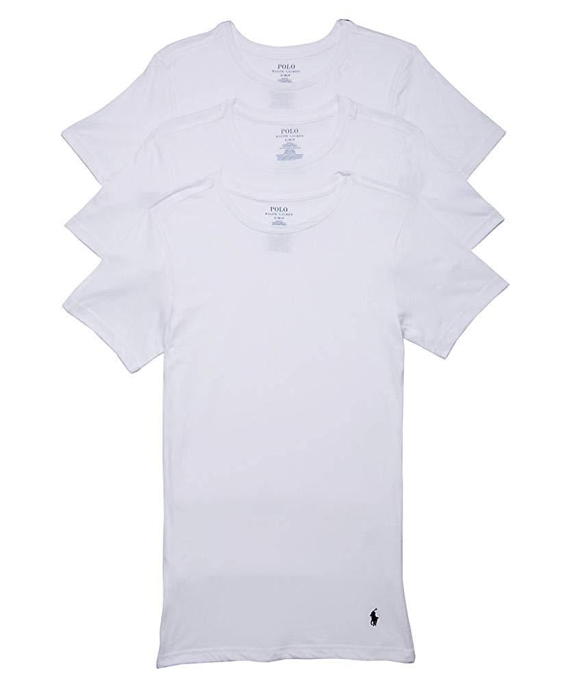 6d835fa6821bf Details about Polo Ralph Lauren Men s 3-Pack Classic Fit Cotton Crewneck T- Shirt