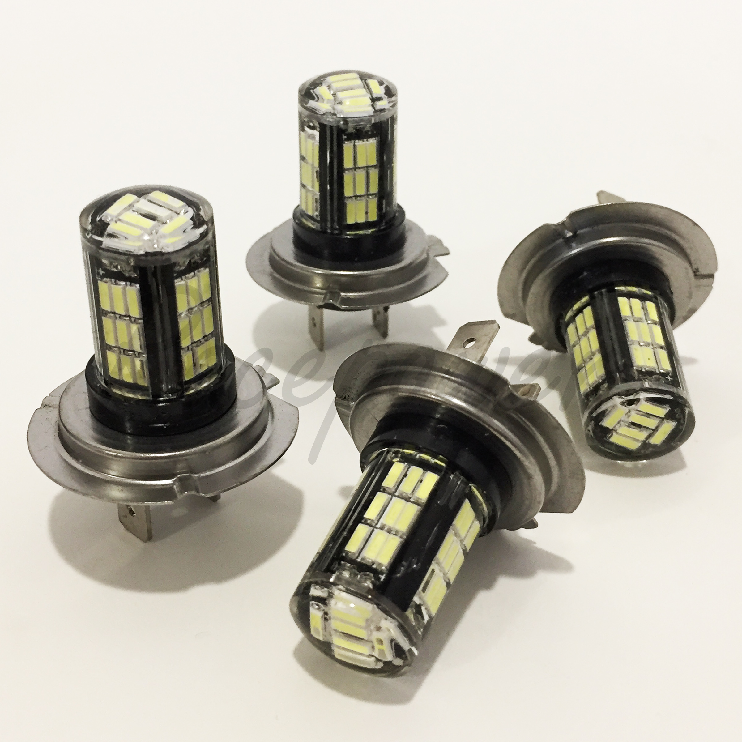 Combo Set H11 9005-HB3 Samsung LED 42 SMD White Headlight Light Bulb Hi//Lo Beam