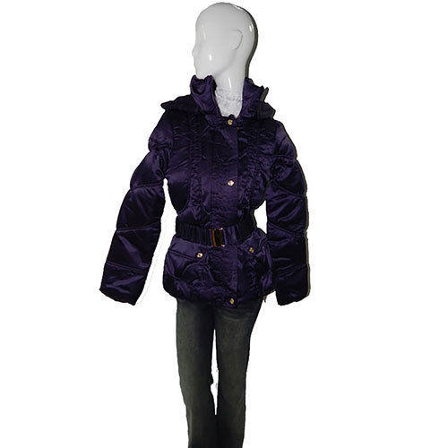 Baby Phat Quilted Winter Coat in purple (Small), 1333BP | eBay