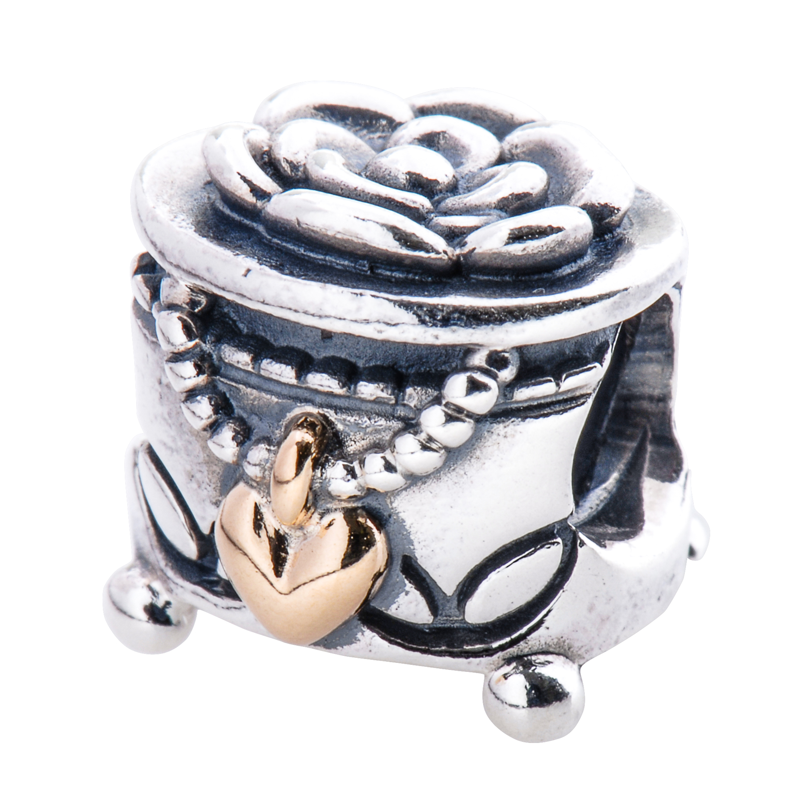 Jewelry Box For Pandora Charms: Pandora Jewelry Box Charm In 925 Sterling Silver, 791019