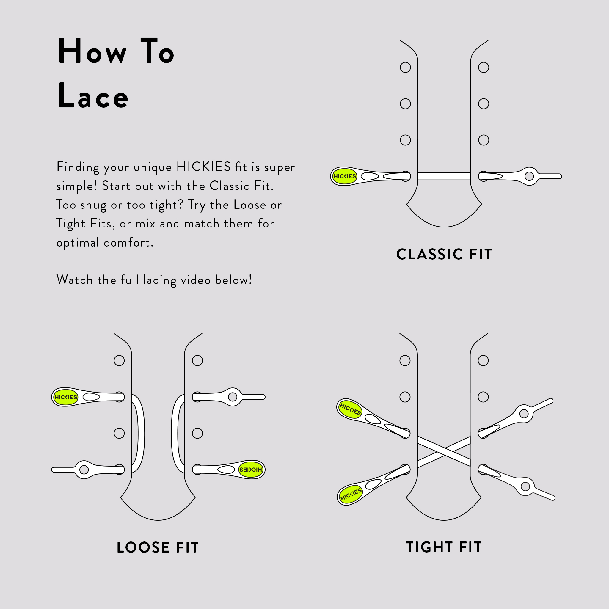 HICKIES-No-Tie-Shoe-Laces-One-Size-Fits-All miniature 9