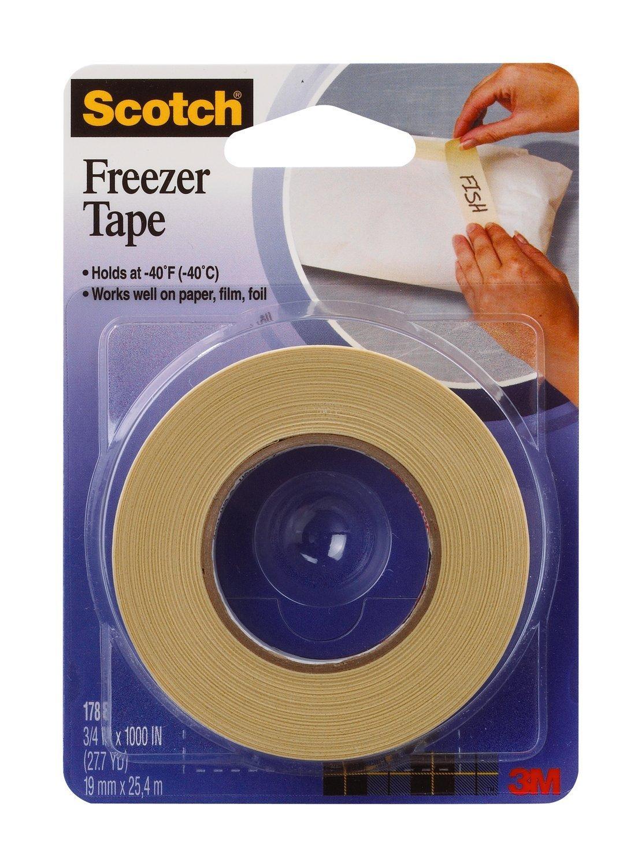 "Scotch 3M Freezer Tape 3/4"" 27.7 Yds-img-0"