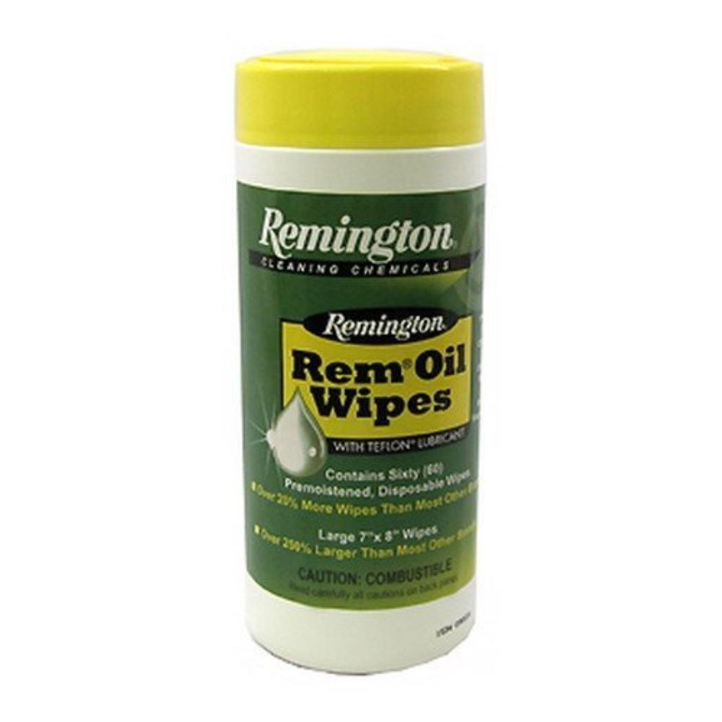 Remington 60 Count Disposable Rem Oil Wipes Large-img-0