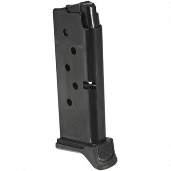 Details about Factory Ruger LCP II 6 Round 380 Auto Magazine, Black - 90621  LCP 2 MAG