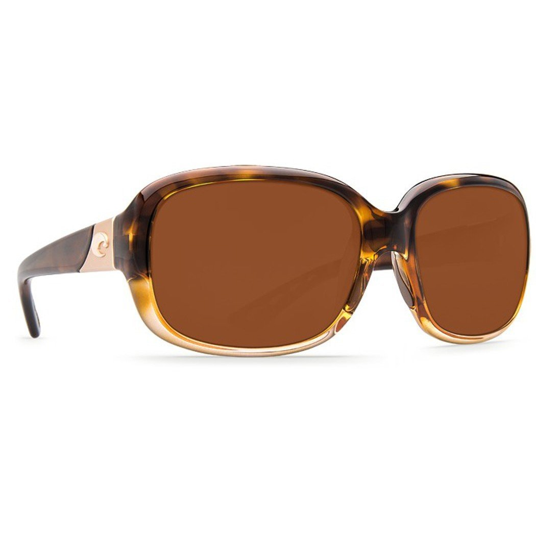 3ad3718d4a Image is loading Costa-Del-Mar-Gannet-Sunglasses-Shiny-Tortoise-Fade-