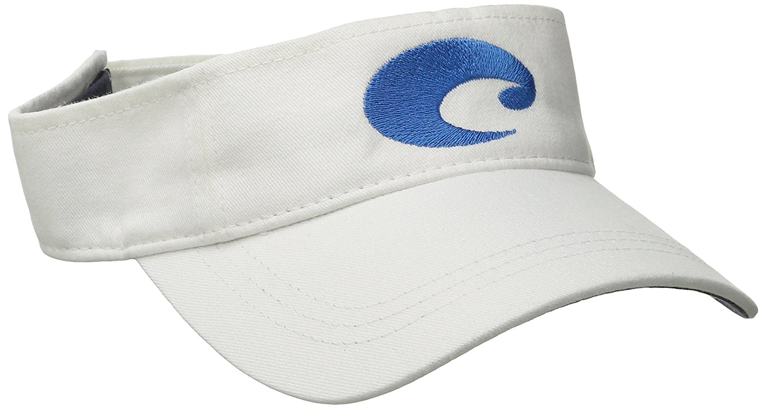 Details about Costa Del Mar Cotton Visor edbe4c9e4c2