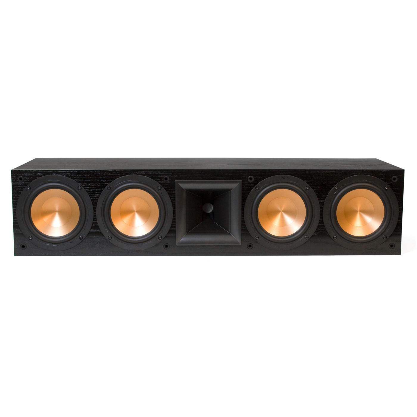 klipsch rc 64 ii reference series center channel loudspeaker each black. Black Bedroom Furniture Sets. Home Design Ideas