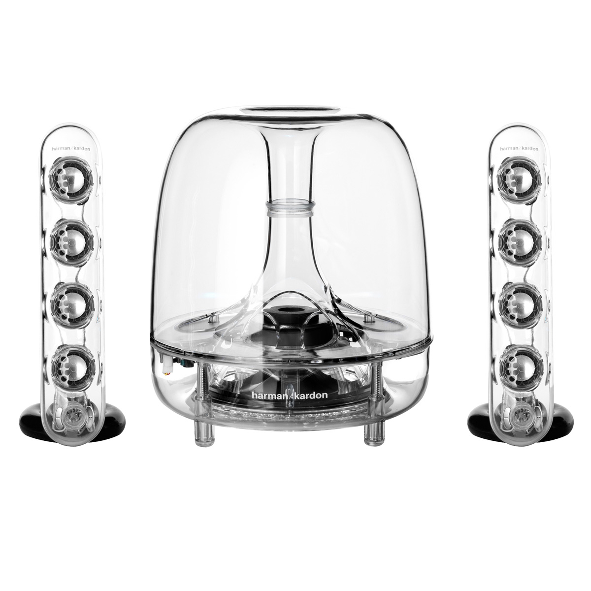 harman kardon soundsticks iii speaker system ebay. Black Bedroom Furniture Sets. Home Design Ideas