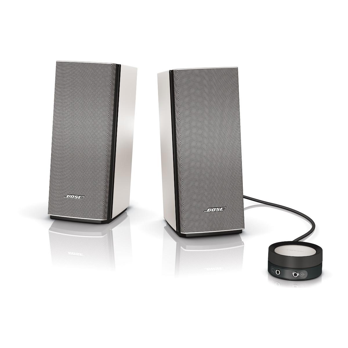 Companion Connecte: Bose Companion 20 Multimedia Speaker System (Silver)