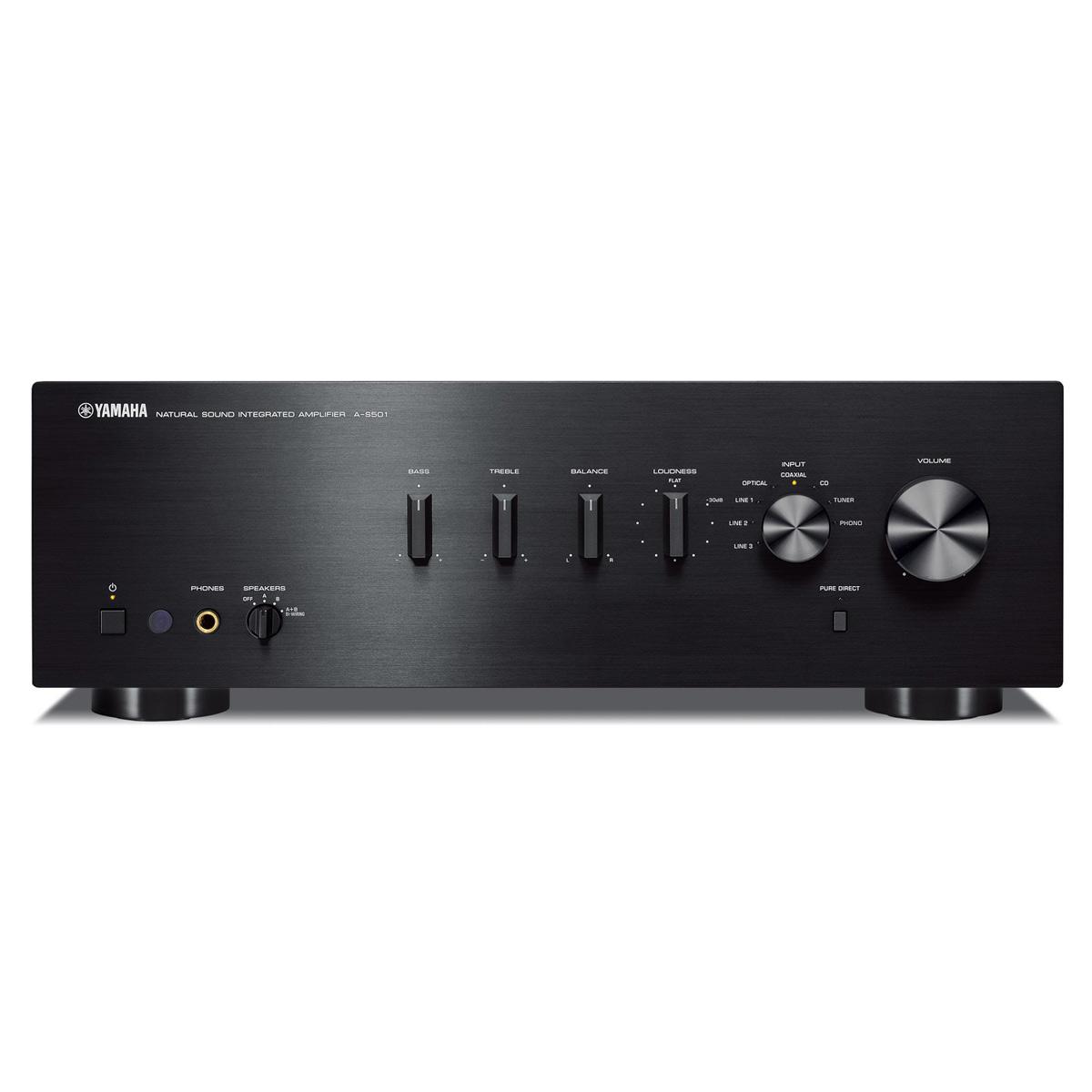 yamaha a s501 integrated amplifier ebay. Black Bedroom Furniture Sets. Home Design Ideas