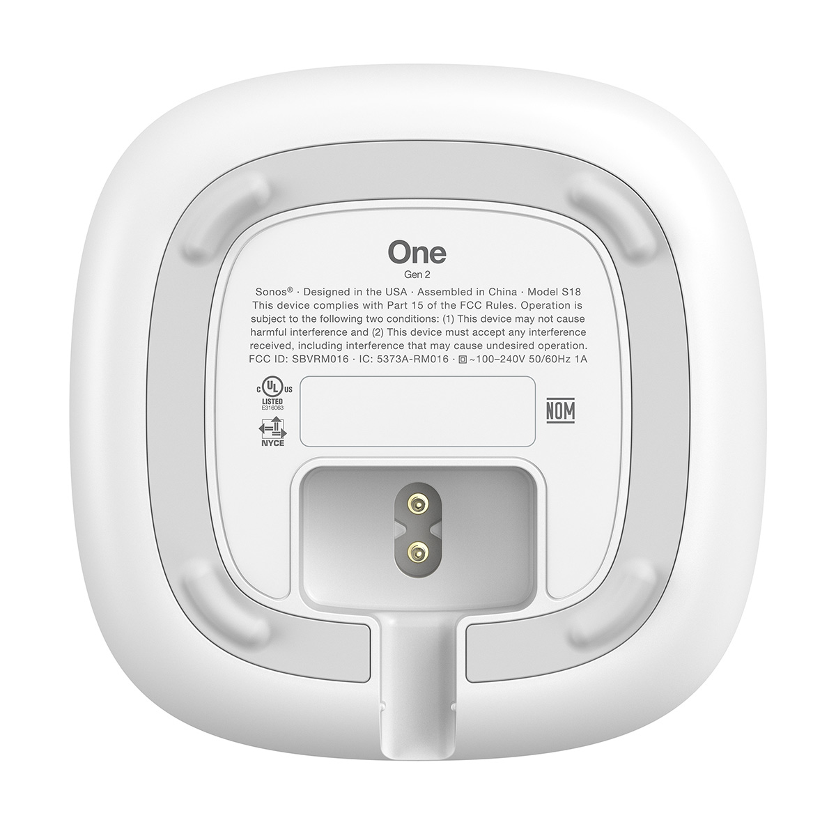 Sonos-One-Voice-Controlled-Wireless-Smart-Speaker-Gen-2 thumbnail 18