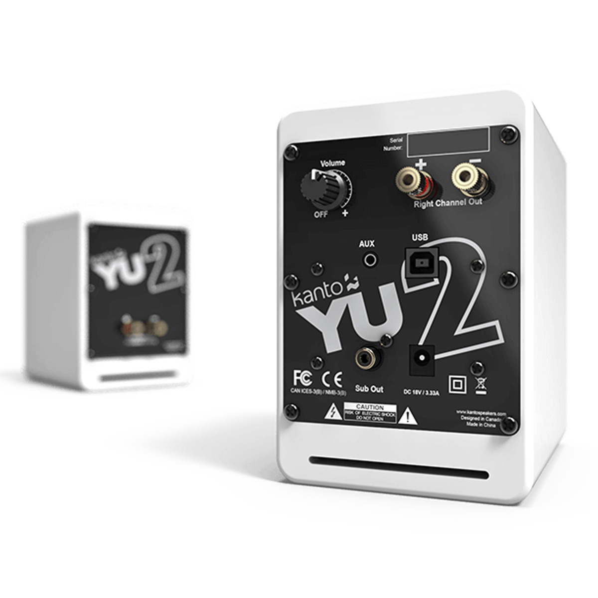 thumbnail 13 - Kanto YU2 Powered Desktop Speakers - Pair