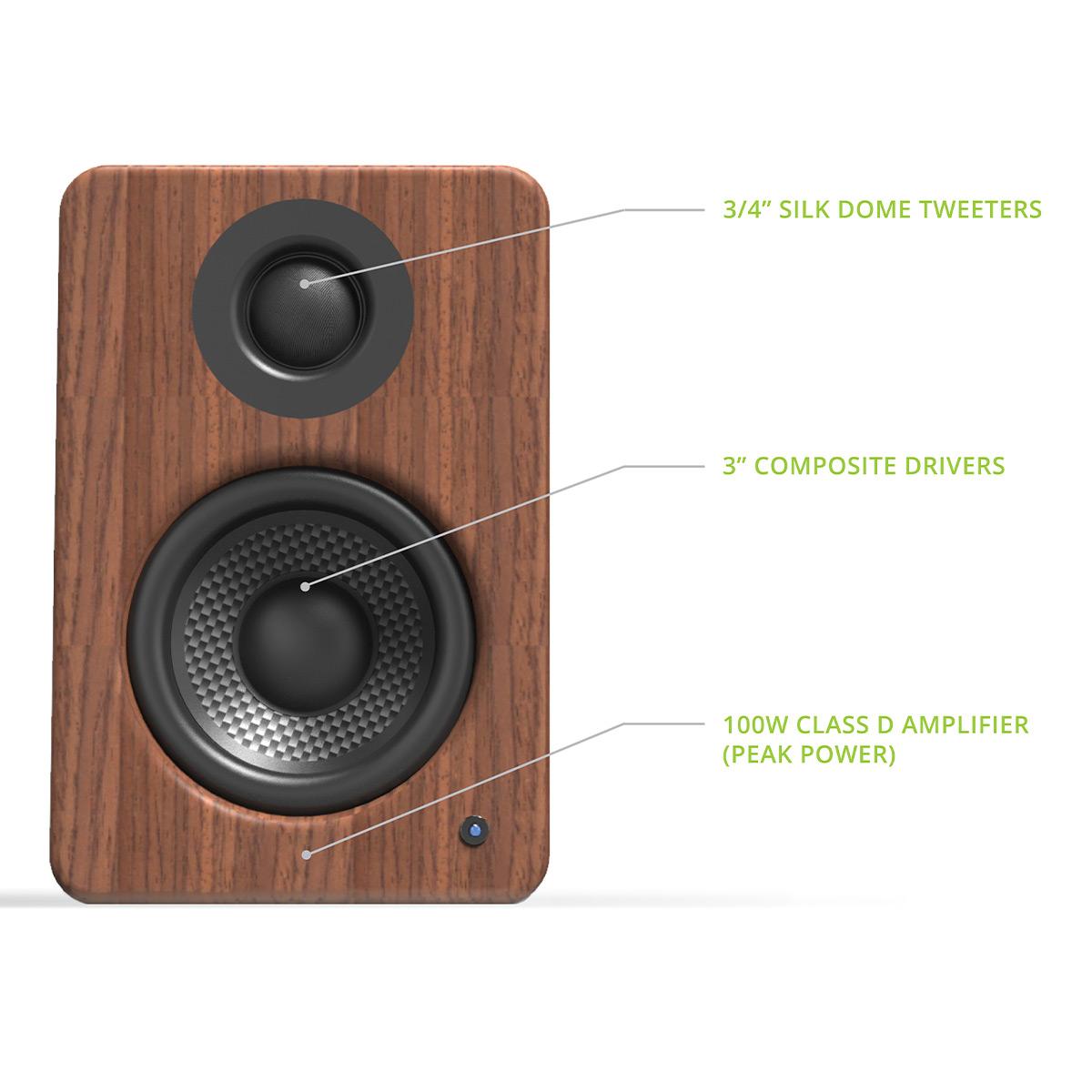 thumbnail 15 - Kanto YU2 Powered Desktop Speakers - Pair