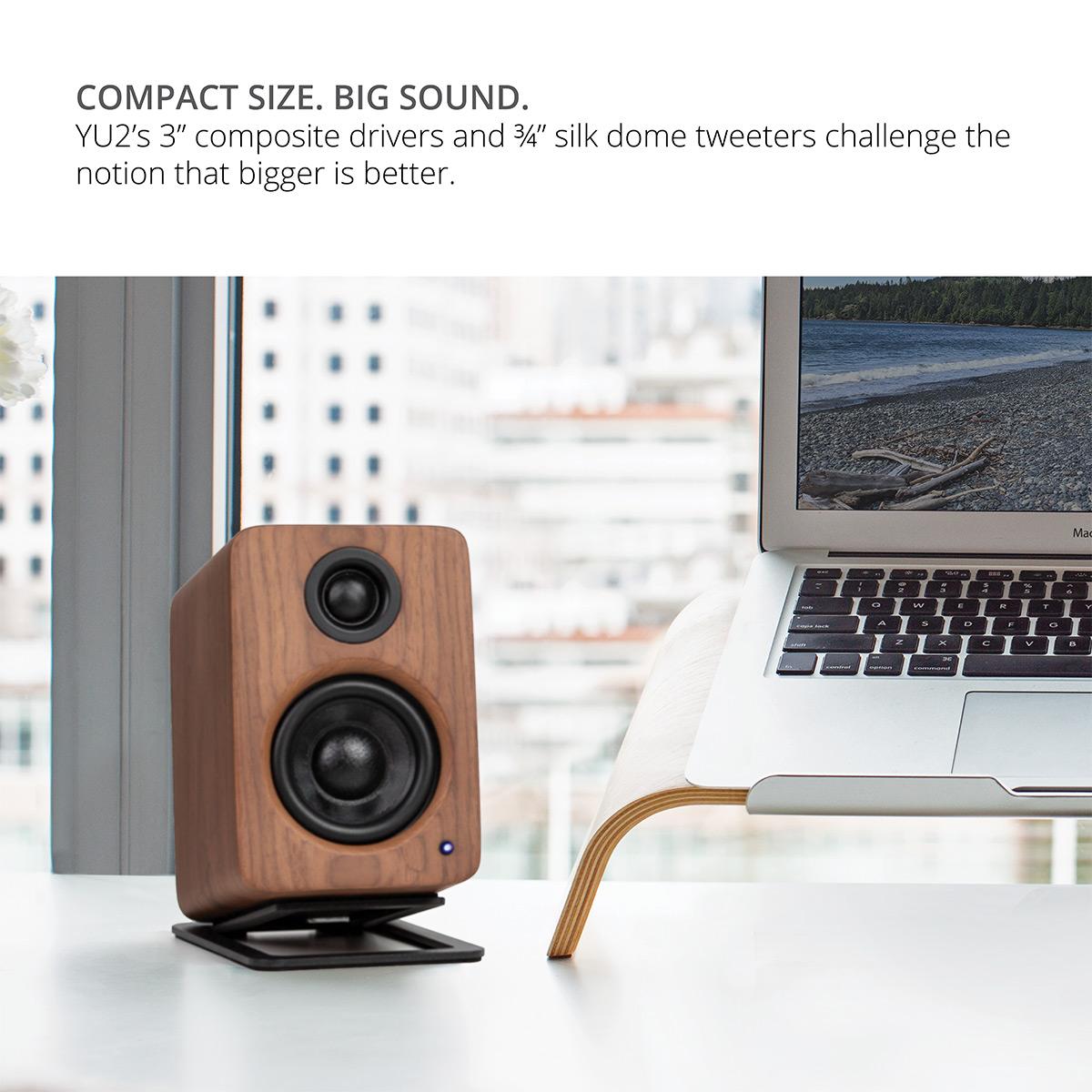 thumbnail 17 - Kanto YU2 Powered Desktop Speakers - Pair