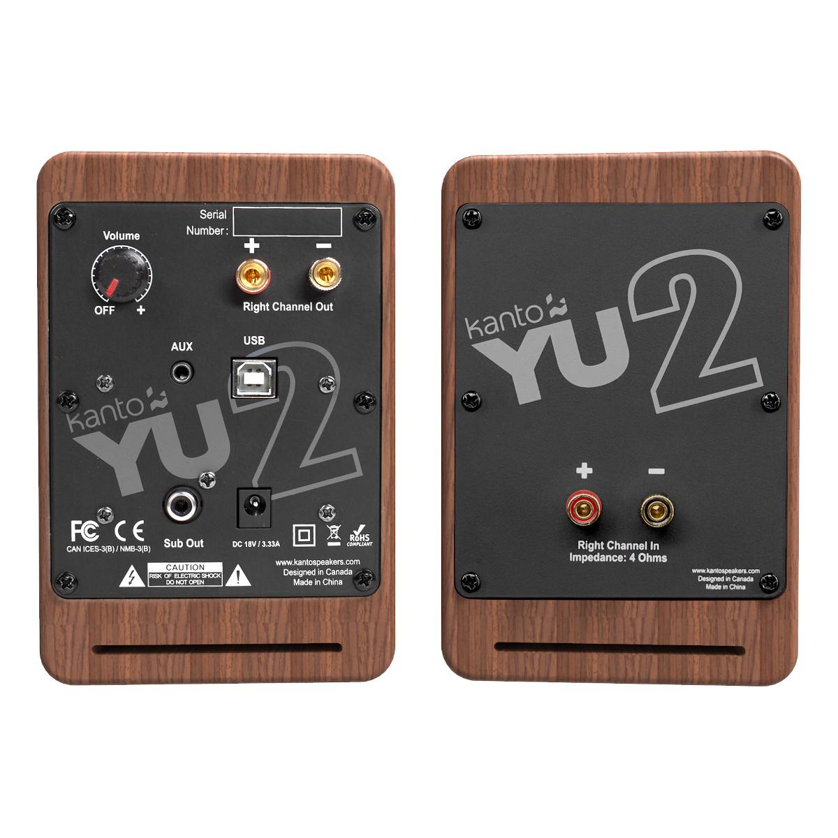 thumbnail 19 - Kanto YU2 Powered Desktop Speakers - Pair