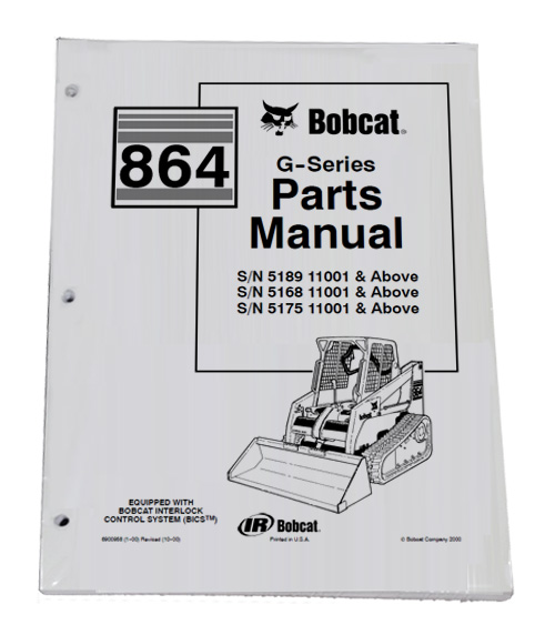bobcat s300 schematic bobcat 864 g series skid steer parts catalog manual - part ...