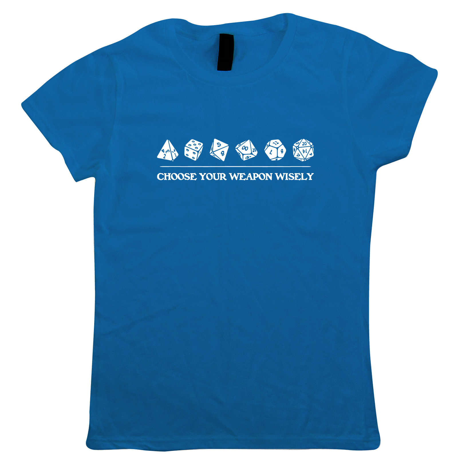 Choose-Your-Weapon-Wisely-Womens-T-Shirt-Hobbies-DND-Dungeon-Dragons-Gift-Her thumbnail 9