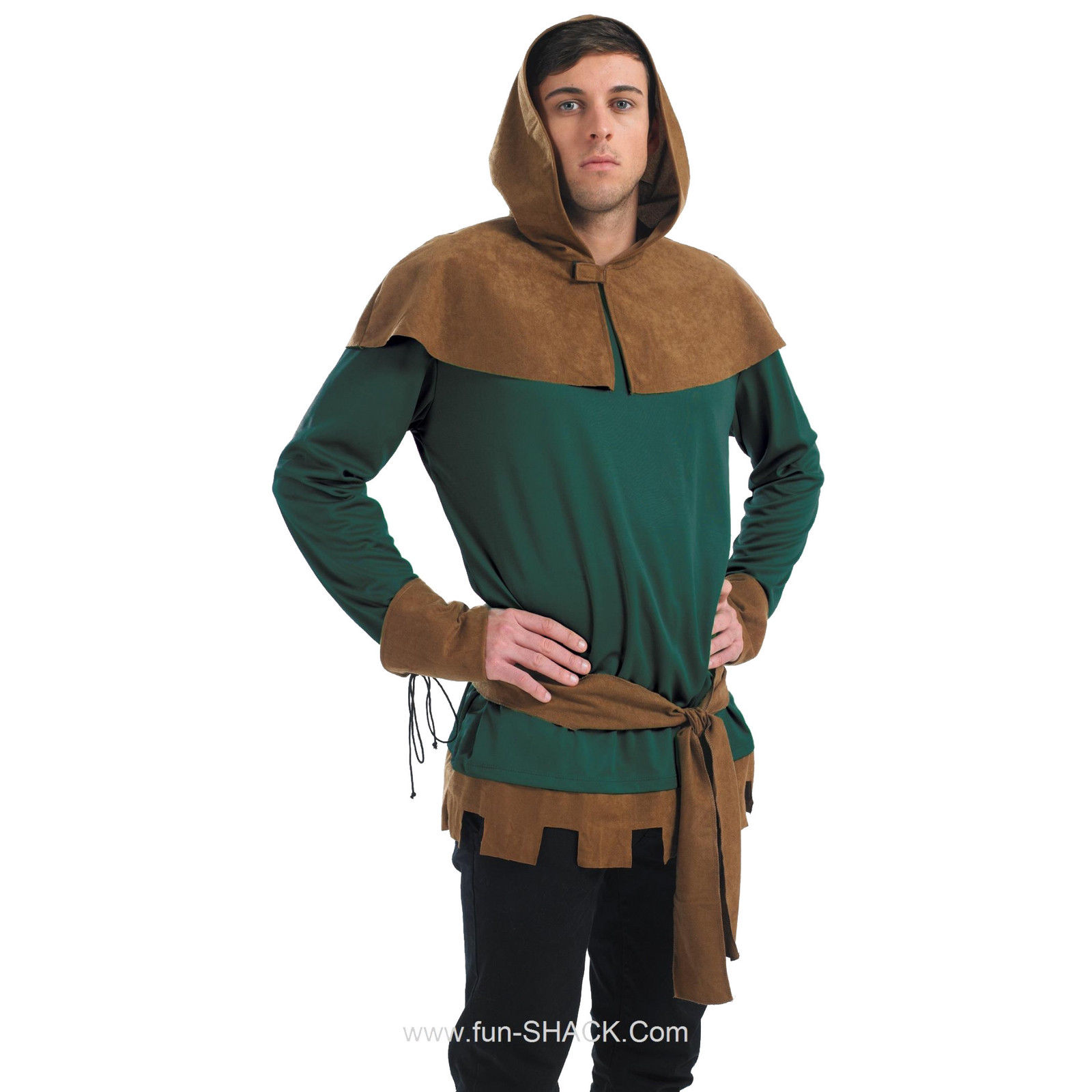 Now you can steal from the rich and give to the poor with our classic Robin Hood costume from Fun Shack! Ideal for any medieval theme or a Robin Hood party ...  sc 1 st  eBay & Adult Robin Hood Costume Mens Sheriff Nottingham Medieval Fancy ...
