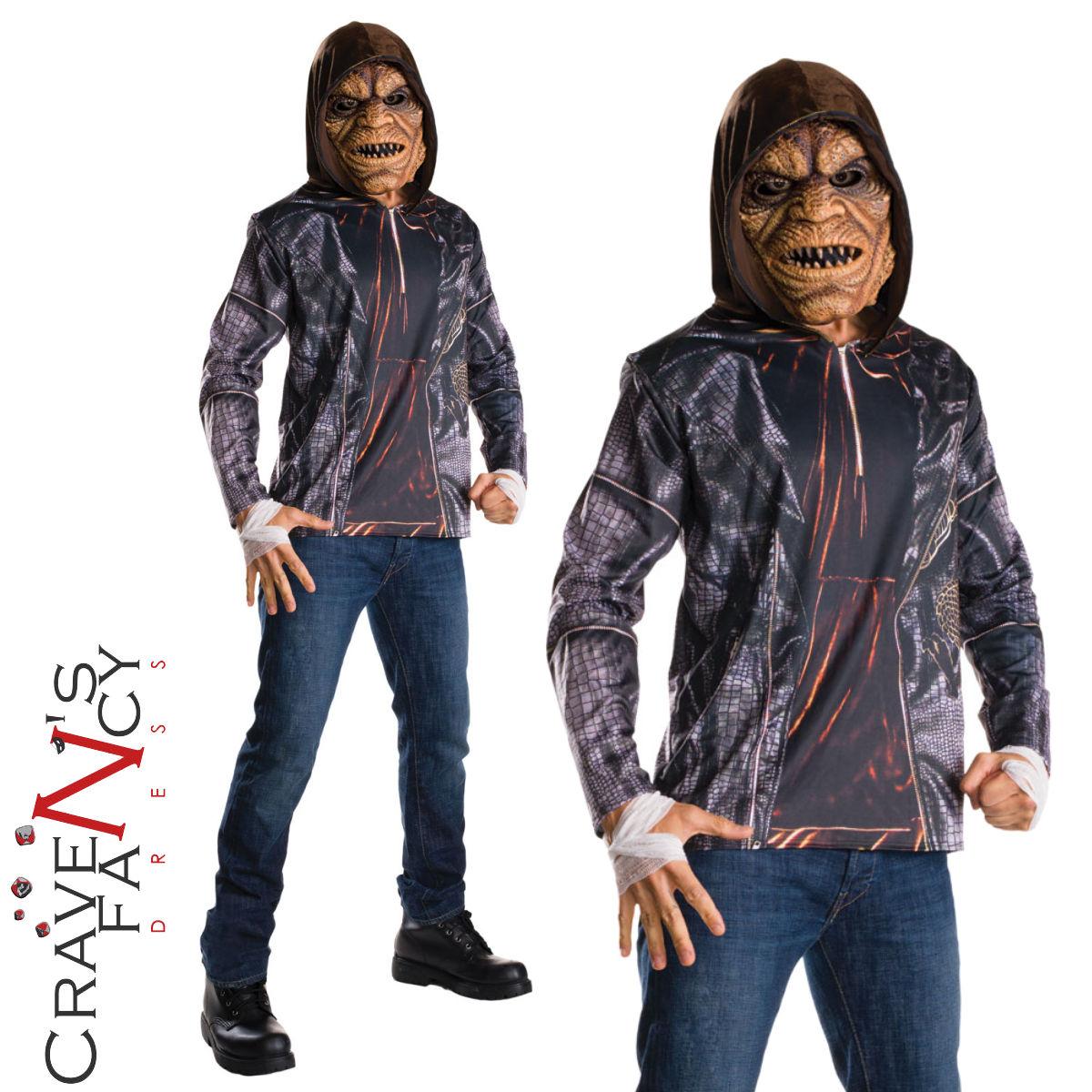 licensed suicide squad costume killer croc halloween adult fancy