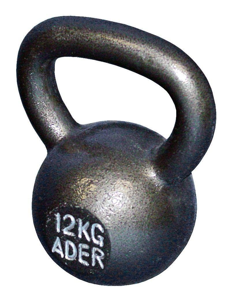 ader fitness premier kettlebell 12 kg 26 lb kettle bell ebay. Black Bedroom Furniture Sets. Home Design Ideas