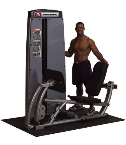 Gym Equipment Legs: BodySolid DCLP-SF Pro Dual Leg And Calf Press Machine