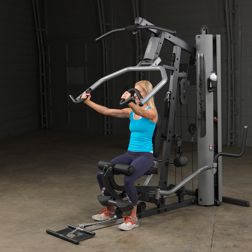 Body solid g s selectorized home gym w leg press glp lb