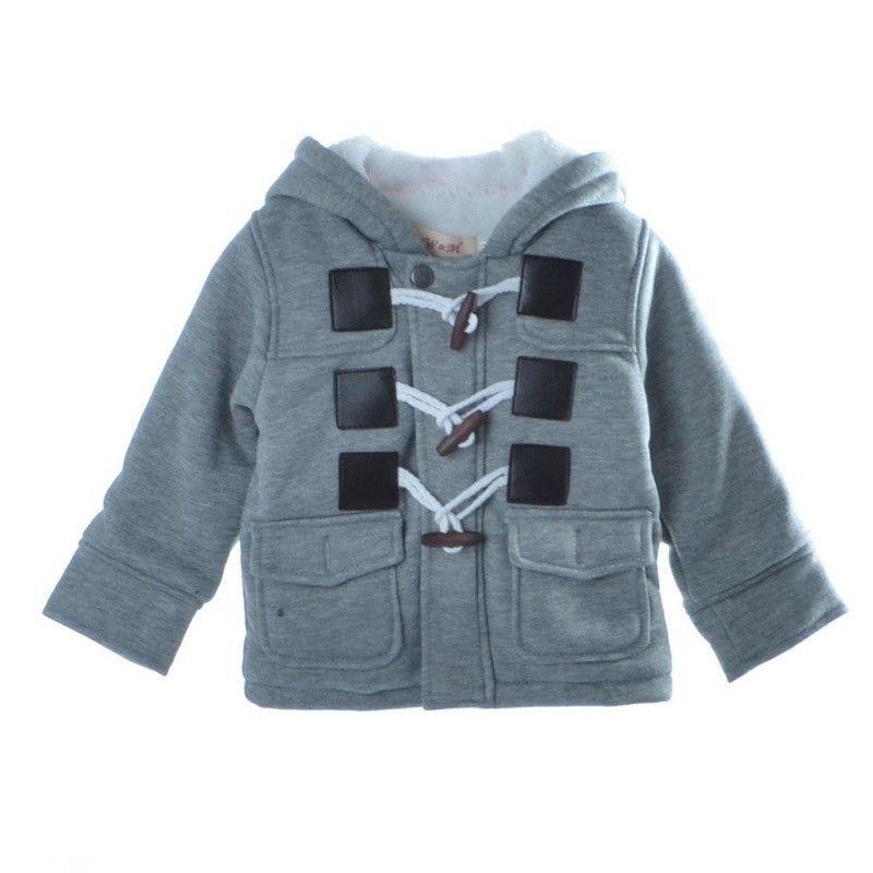 Toddlers Baby Boy Warm Jacket Coats Fleece Snowsuit Winter