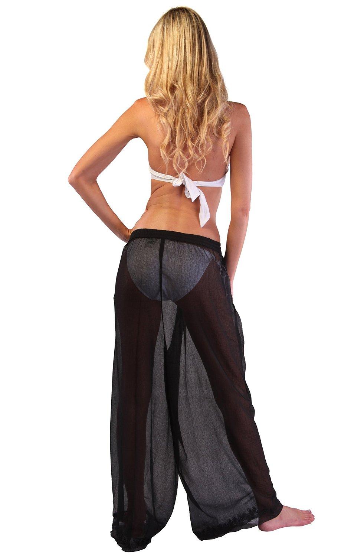 Ingear Beach Sheer Pants Cover Up | eBay