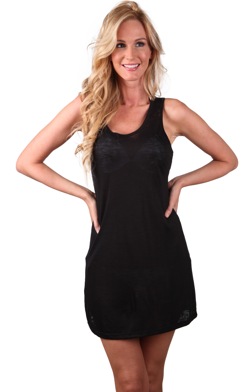 116fd45b52 Ingear Racerback Summer Beach Casual rayon Short Dress Cover Up   eBay