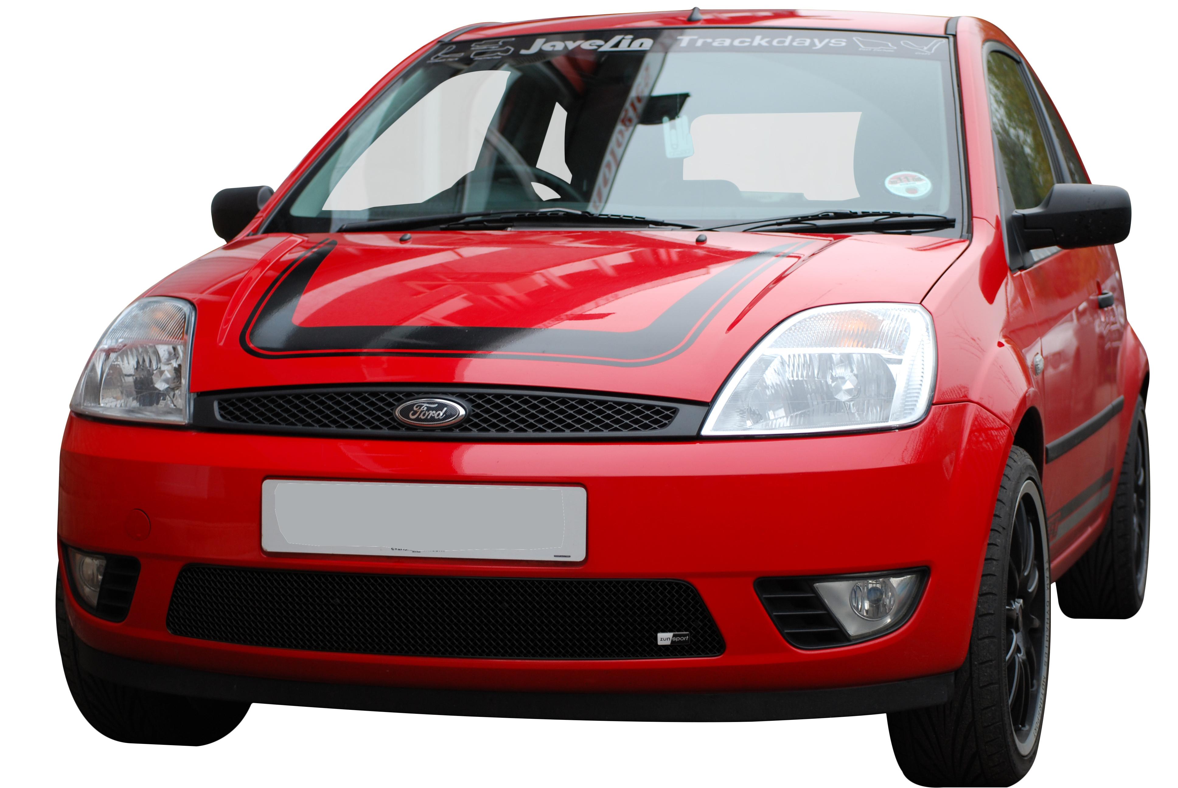 Ford Fiesta MK6 Front Bumper Upper Grille JS