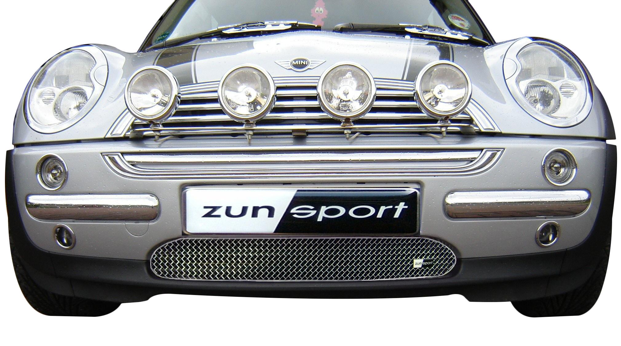 ZunSport R56 Mini 2006 Onwards  Black Steel Mesh Front Grille Set