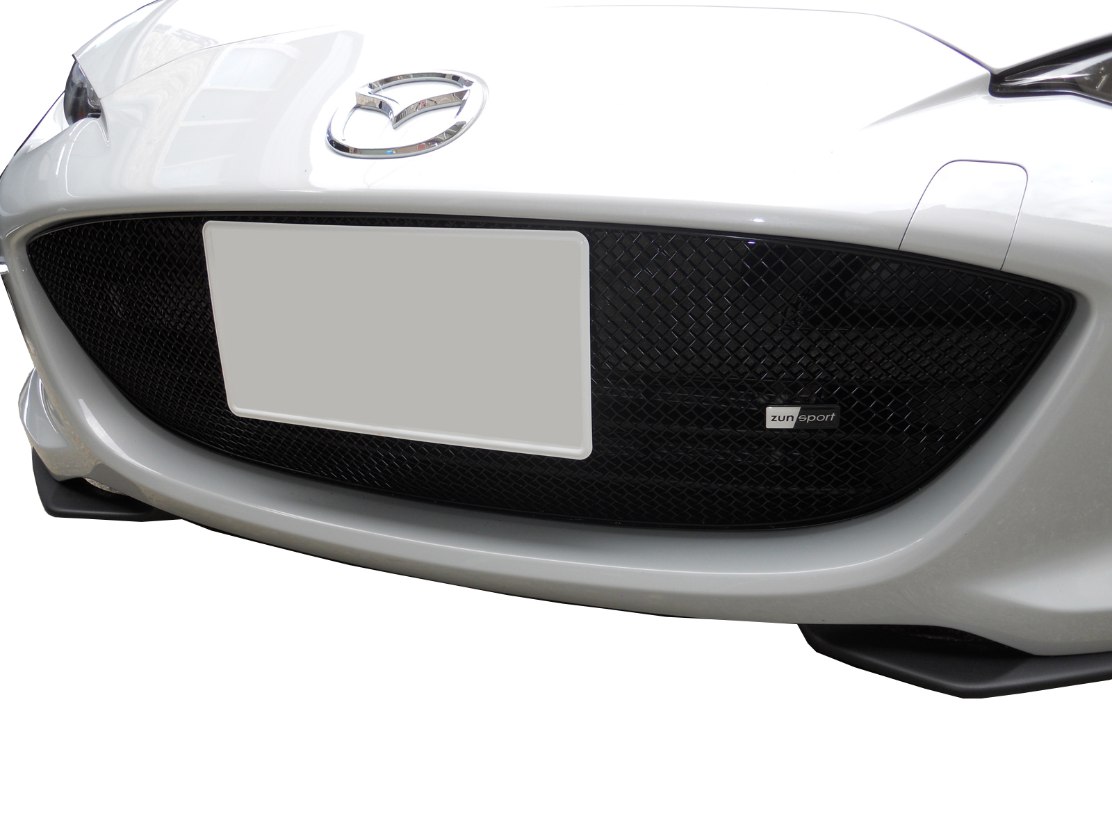 Front Grille Set Zunsport Compatible With Honda S2000 2004-2009 Black finish