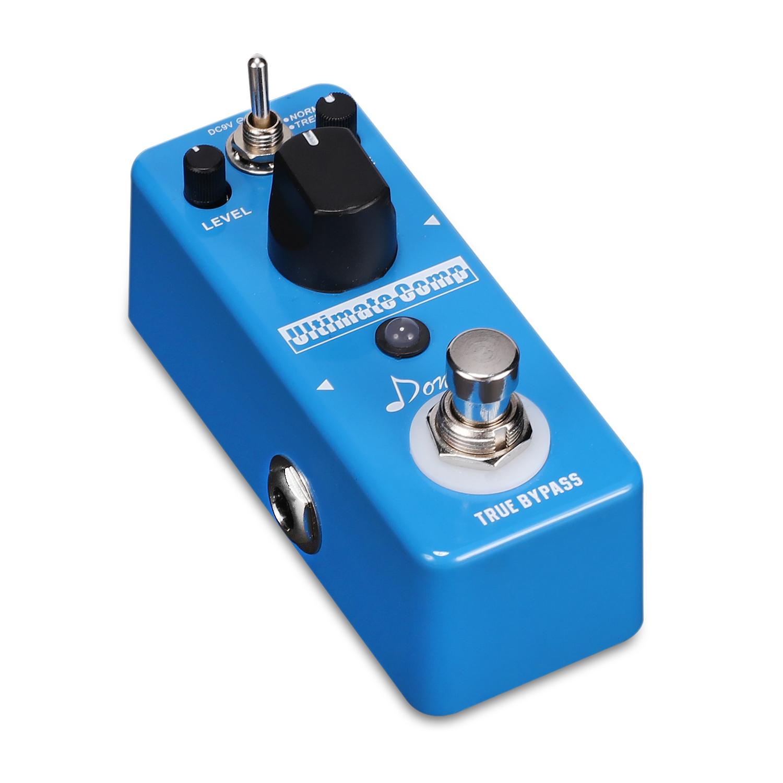 donner new compressor pedal ultimate comp guitar effect pedal fast ship. Black Bedroom Furniture Sets. Home Design Ideas