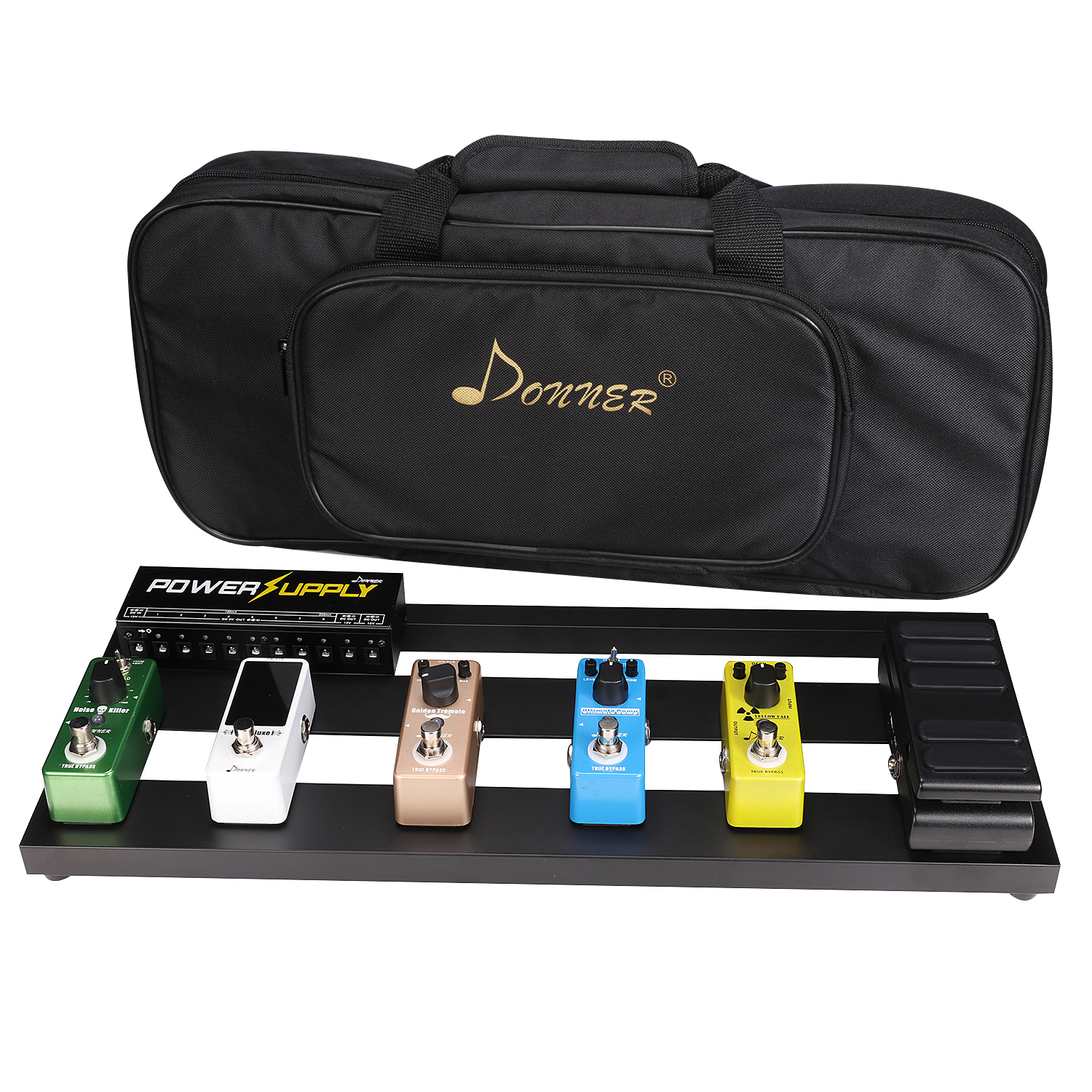 donner guitar pedal board case db 2 aluminium pedalboard bag on sale. Black Bedroom Furniture Sets. Home Design Ideas