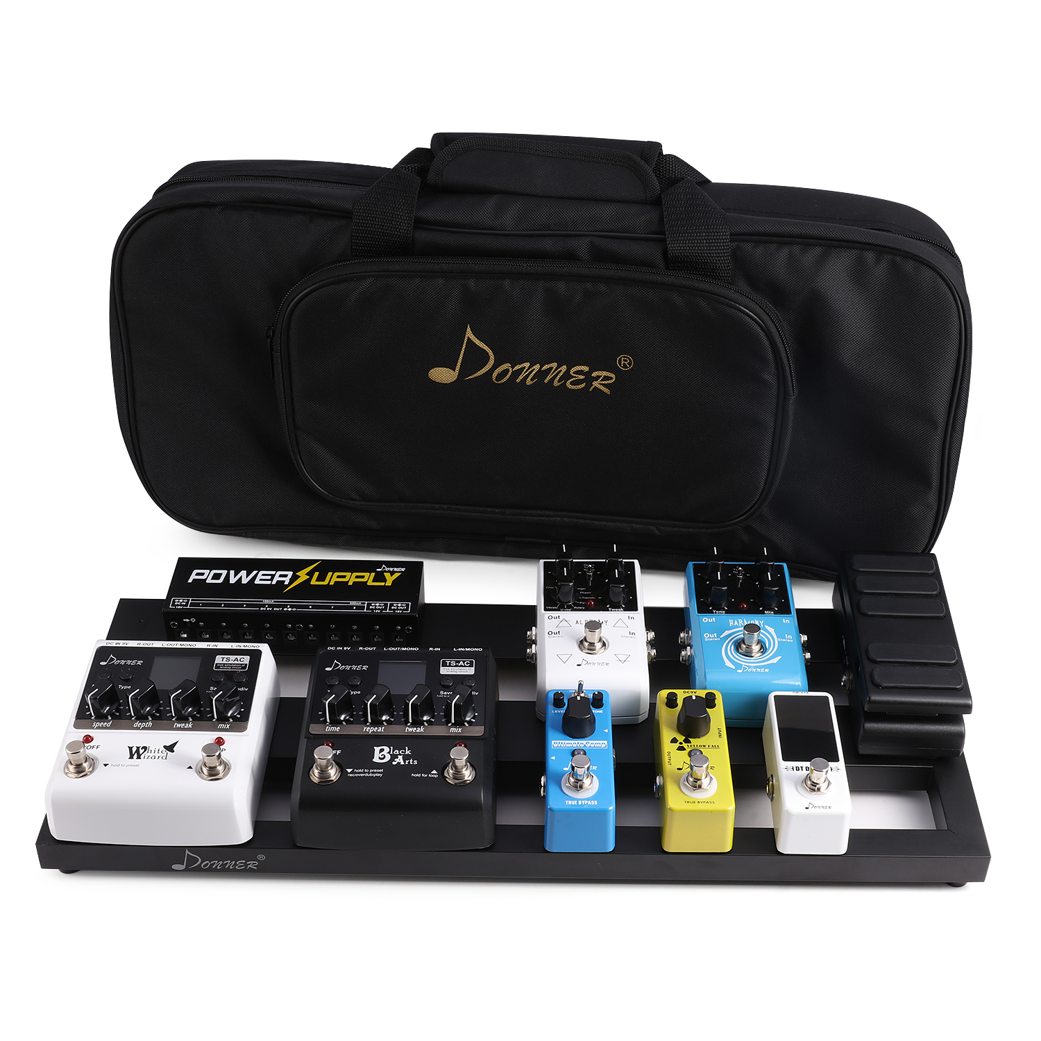 donner guitar pedal board case db 2 aluminium pedalboard bag on sale ebay. Black Bedroom Furniture Sets. Home Design Ideas
