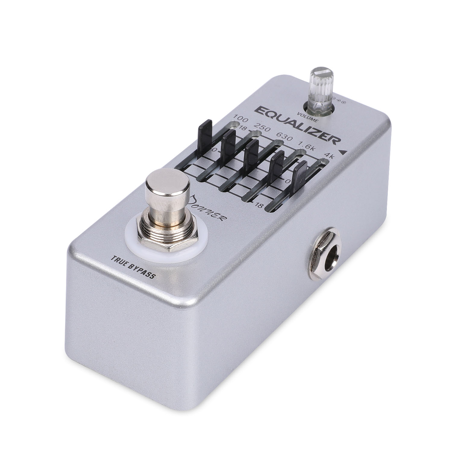donner equalizer pedal 5 band graphic eq guitar effect pedal ebay