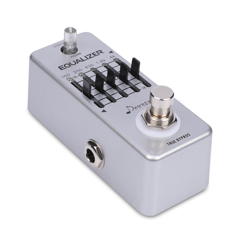 top donner equalizer pedal 5 band graphic eq guitar effect pedal ebay. Black Bedroom Furniture Sets. Home Design Ideas