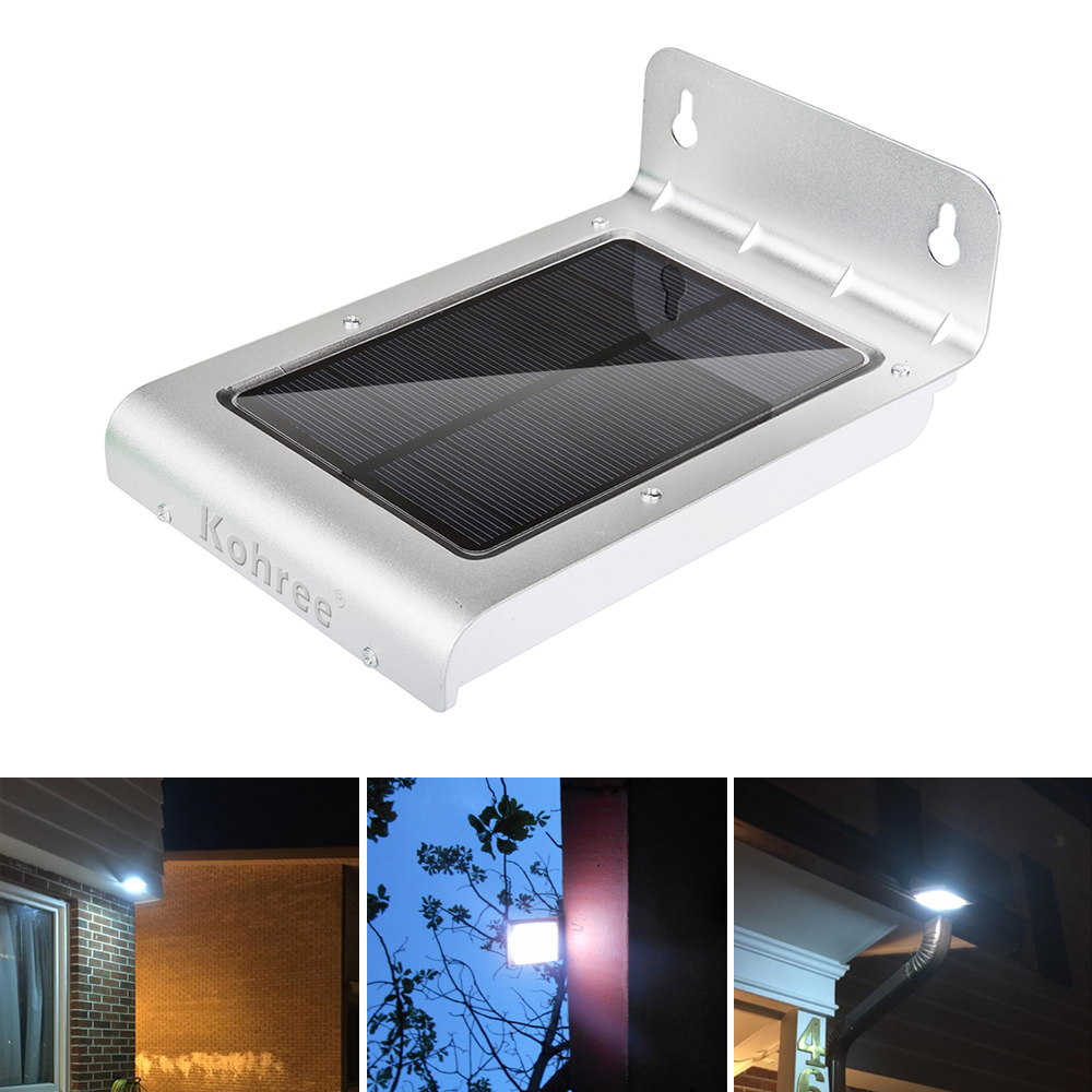 Bright Outdoor Wall Lights : 24 LED Super Bright Solar Motion Sensor Outdoor Garden Patio Home Wall Light