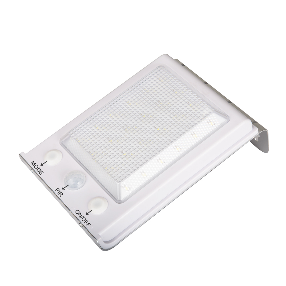 bright solar motion sensor outdoor garden patio home wall light ebay. Black Bedroom Furniture Sets. Home Design Ideas