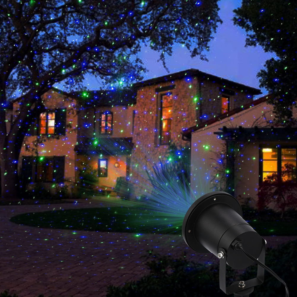 Laser Lights Outdoor Holiday Decoration Christmas Lighting Waterproof Red Green Ebay