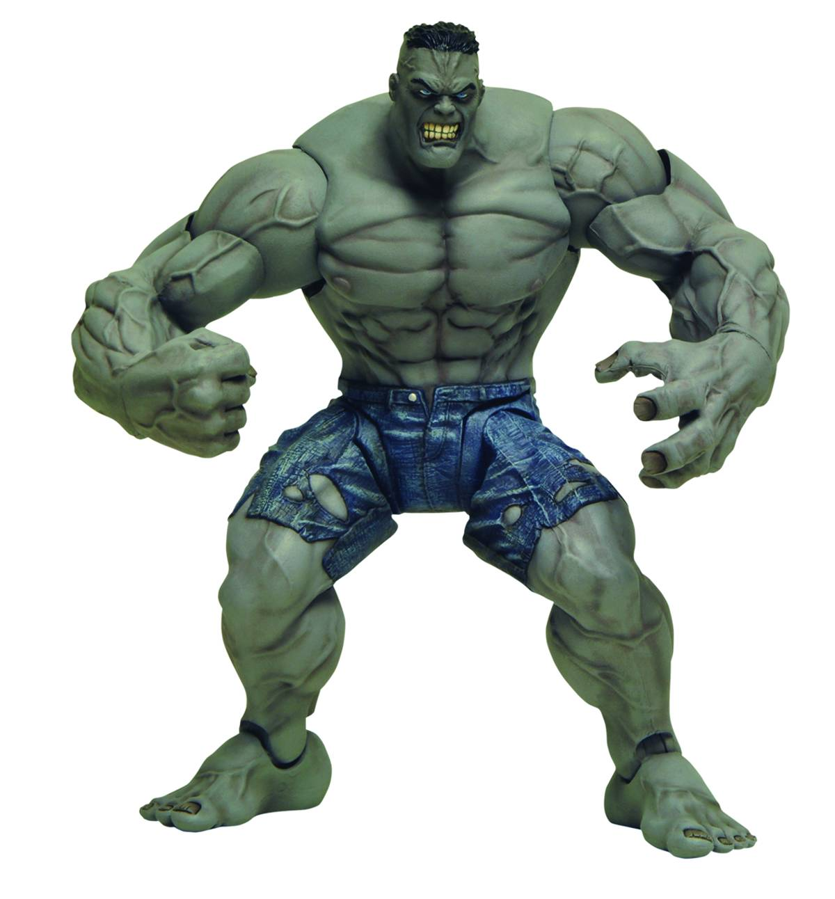 Diamond Select Toys Marvel Ultimate Hulk Action Figure | eBay