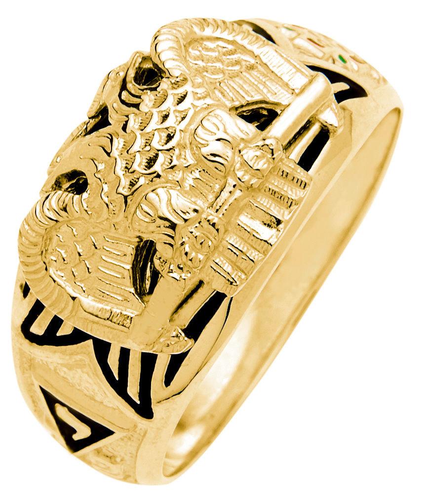 New 10k Or 14k White Or Yellow Gold Masonic Scottish Rite