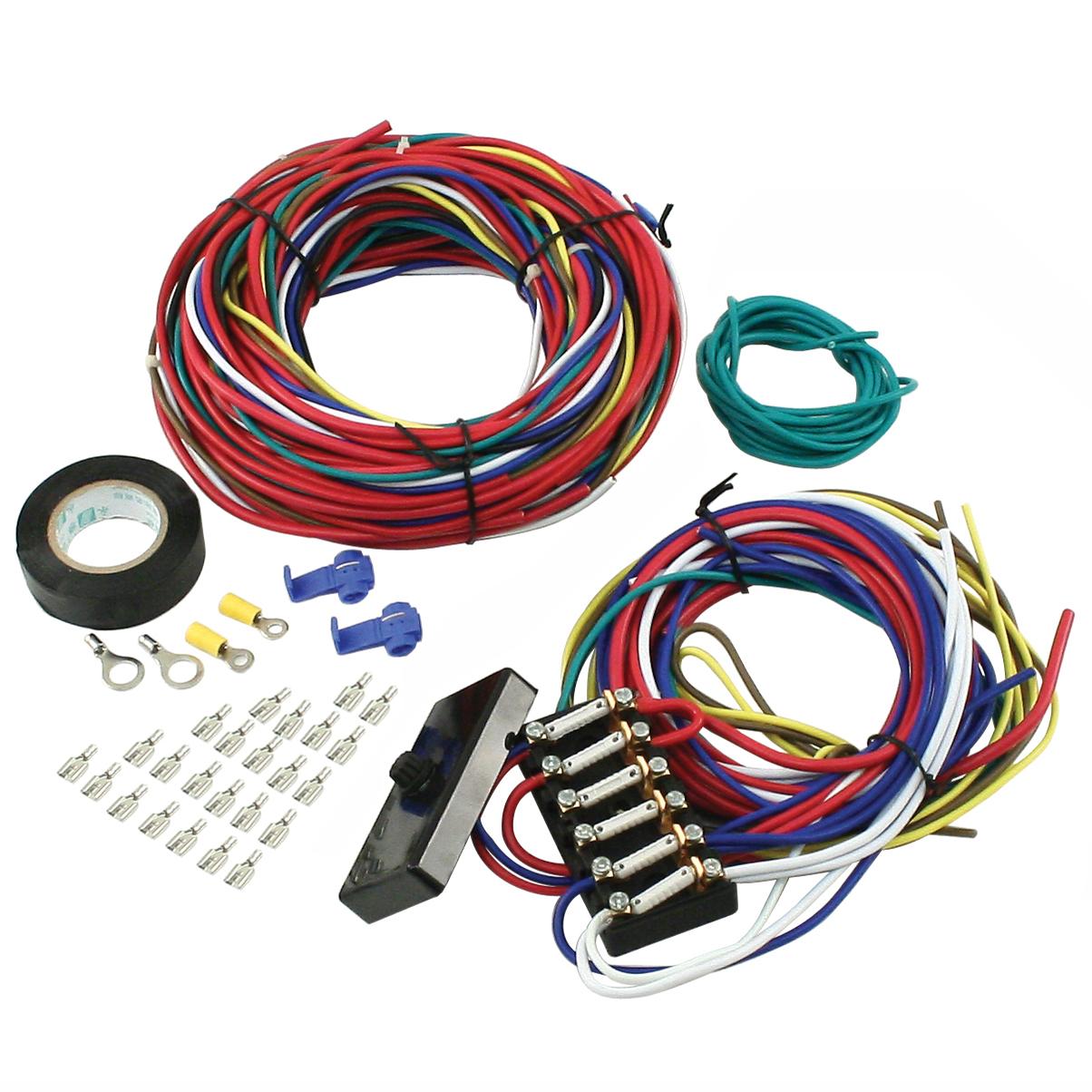 empi 9466 vw dune buggy sand rail baja universal wiring harness with rh ebay com