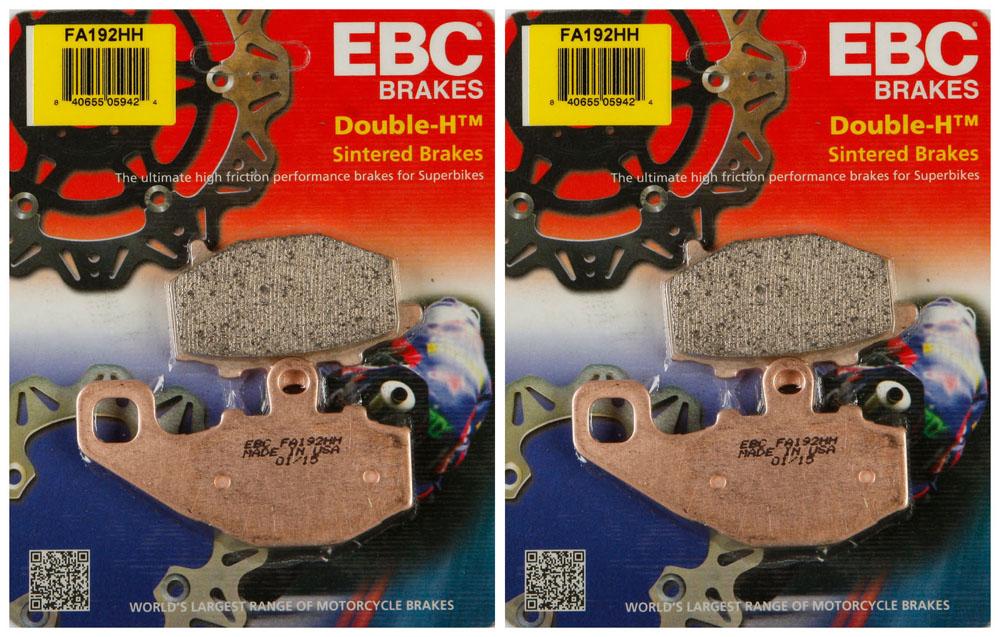EBC Double-H Sintered Metal Brake Pads FA380HH EBC Brakes 2 Packs - Enough for 2 Rotors